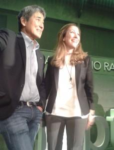 Guy Kawasaki y María