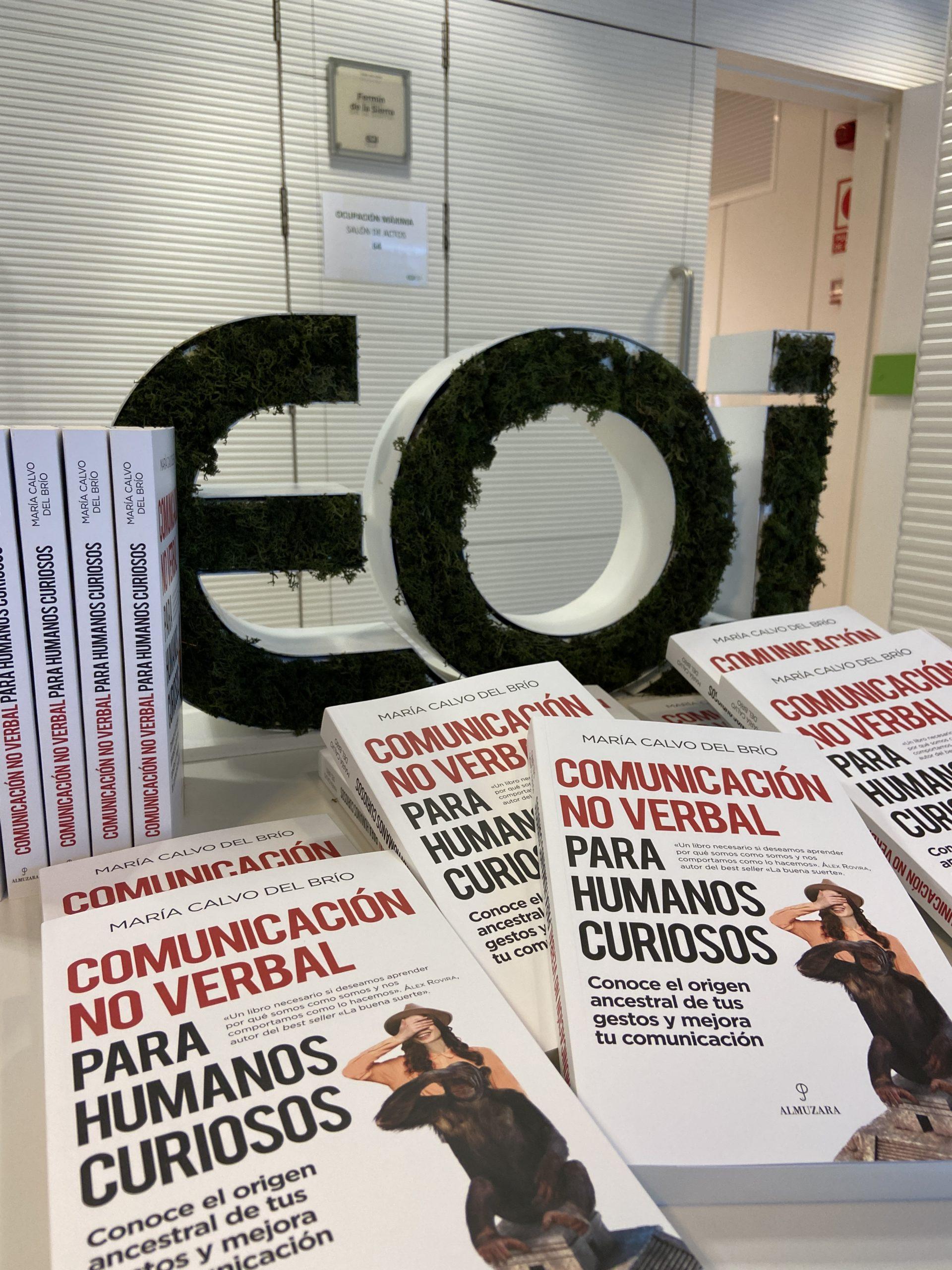 Presentación en EOI del libro Comunicación No Verbal para humanos curiosos